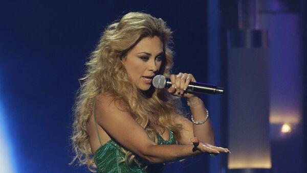 Aracely Arámbula, cantante mexicana - Sputnik Mundo