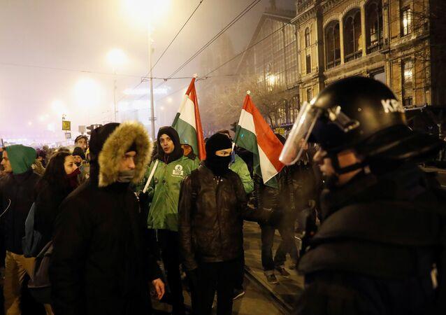 Protestas en Budapest, Hungría