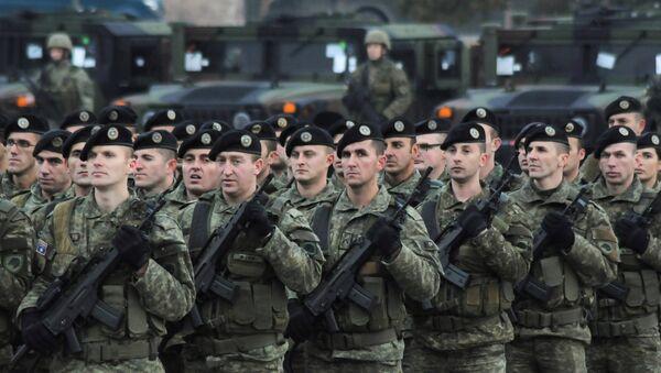 Fuerzas de Seguridad de Kosovo - Sputnik Mundo