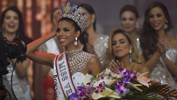 Isabella Rodriguez, ganadora de Miss Venezuela 2018 - Sputnik Mundo
