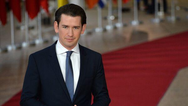 Sebastian Kurz, canciller de Austria - Sputnik Mundo