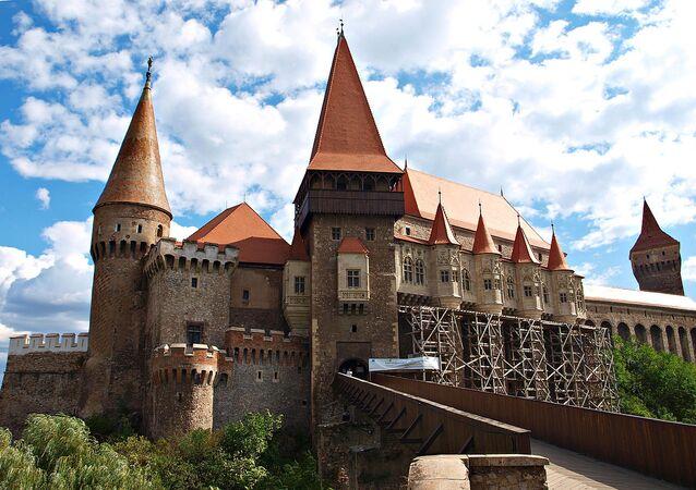 Castillo de Corvino o castillo de Hunyad en Rumania
