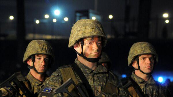 Los soldados kosovares - Sputnik Mundo