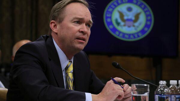 Mick Mulvaney, director de la Oficina de Administración y Presupuesto de EEUU - Sputnik Mundo