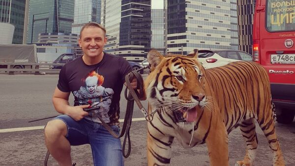 Askold Zapashni, domador y director escénico del circo de los hermanos Zapashni - Sputnik Mundo