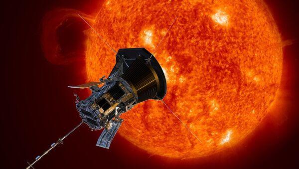 La sonda Solar Parker, imagen artística - Sputnik Mundo