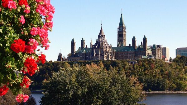 Parlamento de Canadá en Ottawa - Sputnik Mundo