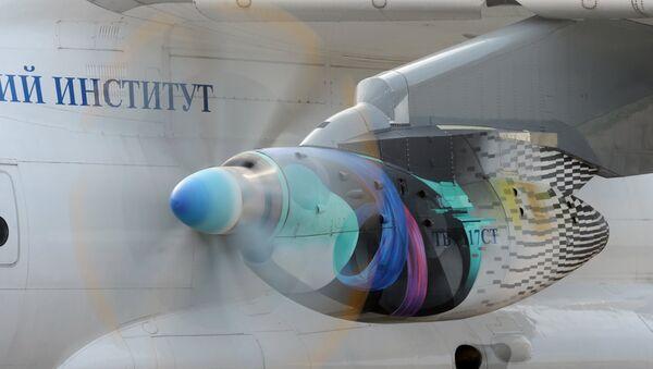 Motor TV7-117 del Il-112V, foto archivo - Sputnik Mundo