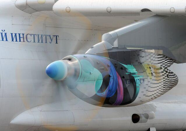 Motor TV7-117 del Il-112V, foto archivo