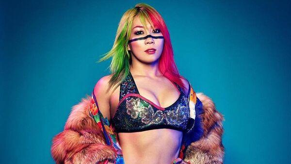 Kanako Urai, o Asuka, luchadora de la WWE - Sputnik Mundo