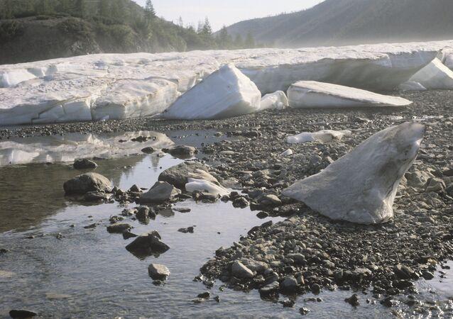 Kolimá, la provincia de Magadán, el territorio del permafrost