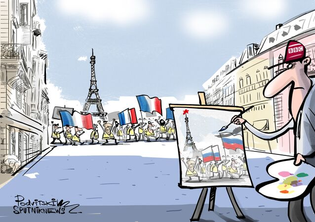 La BBC busca una 'pista rusa' en las protestas de los 'chalecos amarillos'
