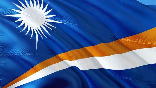 La bandera de las Islas Marshall - Sputnik Mundo