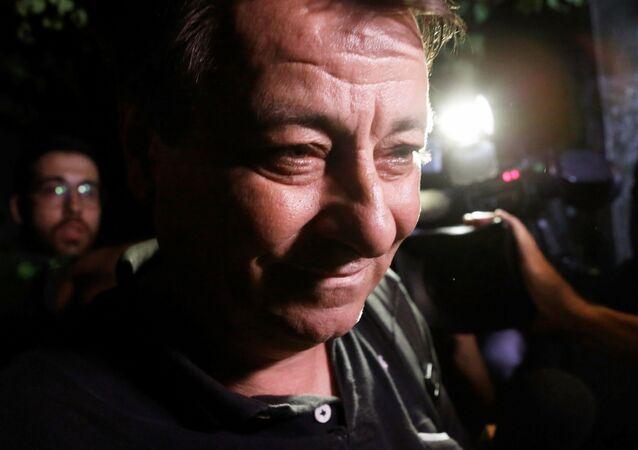 Cesare Battisti, exguerrillero izquierdista (archivo)