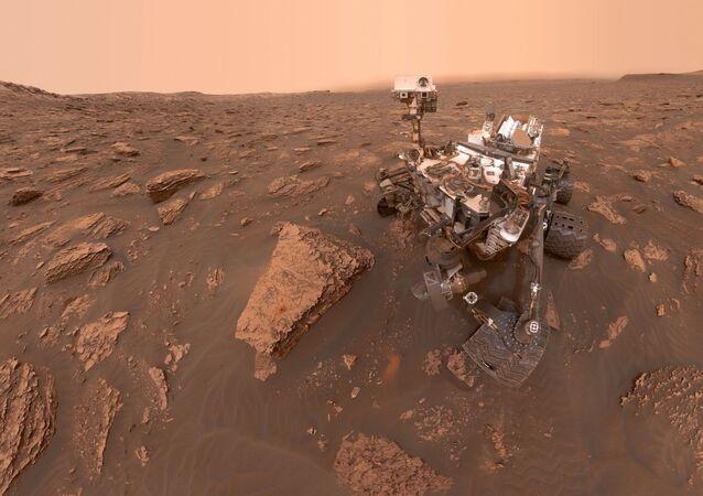 El astromóvil marciano Curiosity
