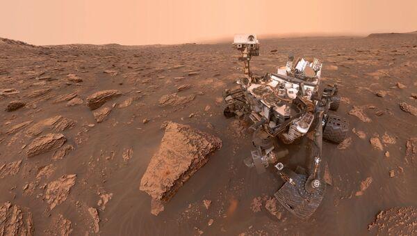 El astromóvil marciano Curiosity - Sputnik Mundo