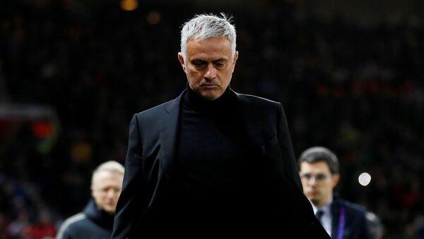 José Mourinho, entrenador del club inglés Manchester United - Sputnik Mundo