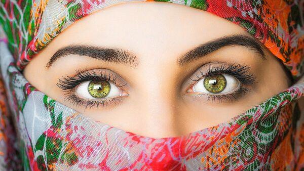 Una mujer árabe - Sputnik Mundo