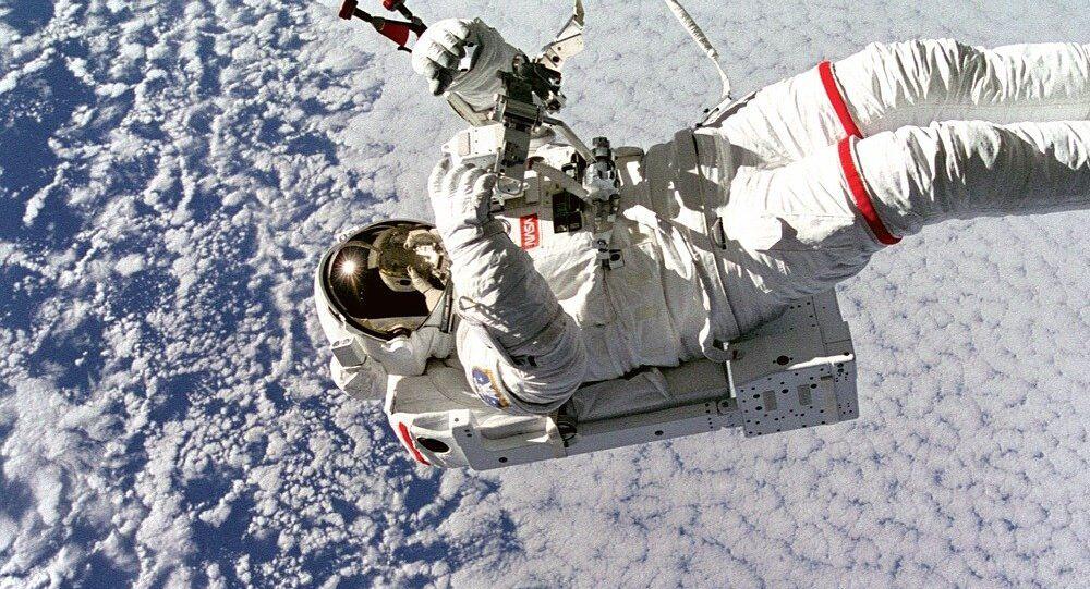 Un astronauta en el espacio (imagen referencial)