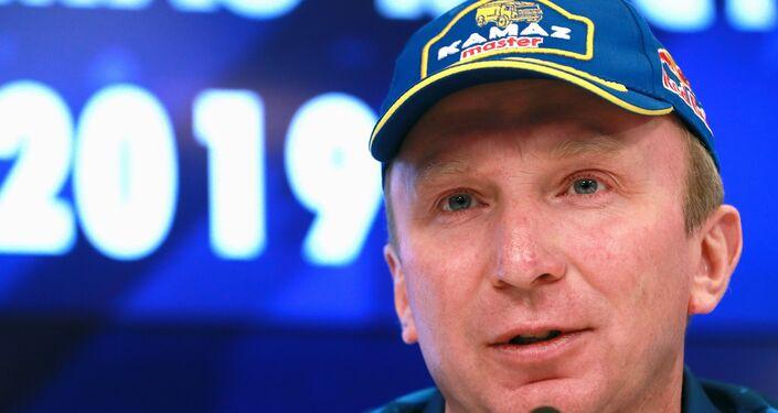 Vladímir Chaguin, el líder del equipo Kamaz Master