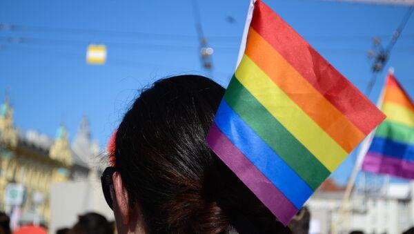 La bandera de la comunidad LGBT - Sputnik Mundo