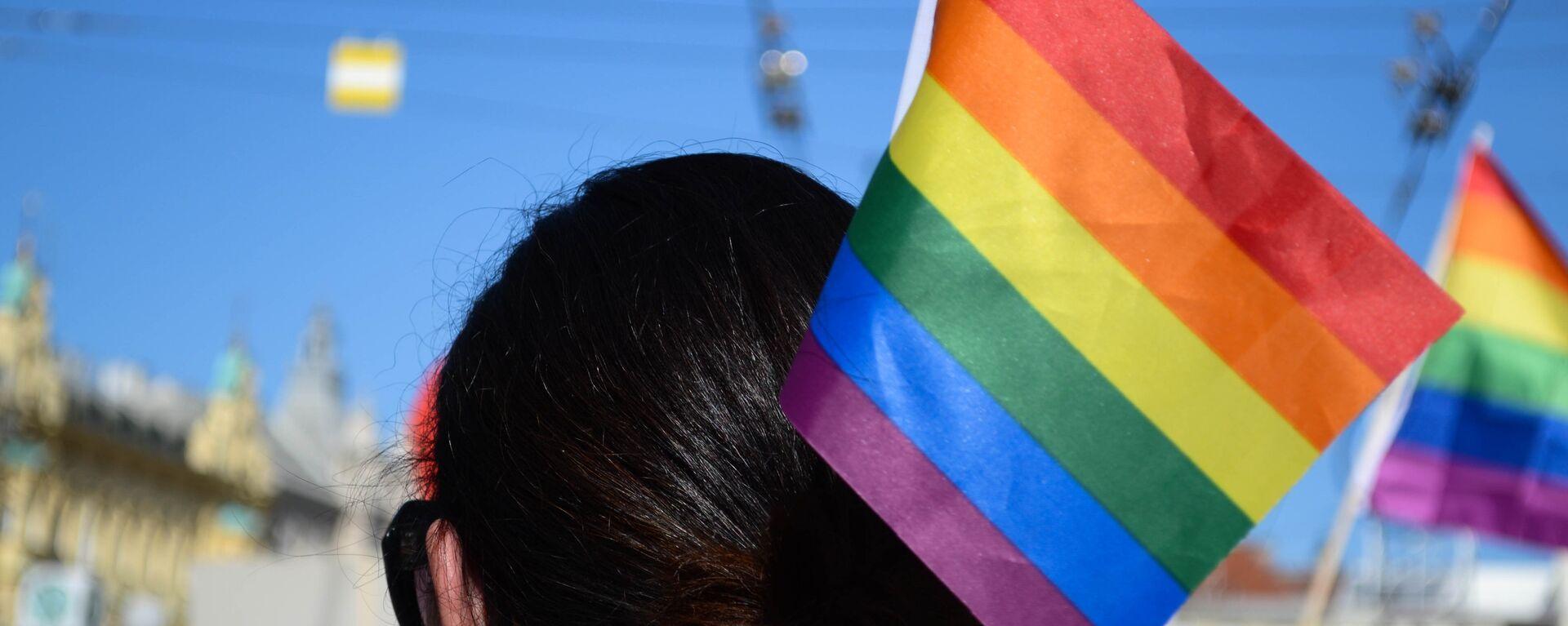 La bandera de la comunidad LGBT - Sputnik Mundo, 1920, 28.06.2021