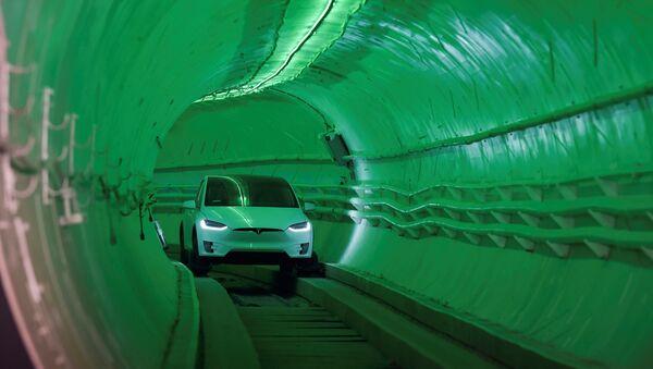 La empresa The Boring Company pone a prueba su túnel de alta velocidad - Sputnik Mundo