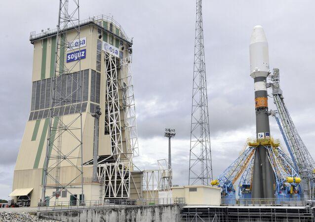 Soyuz-ST ruso en la Guayana Francesa