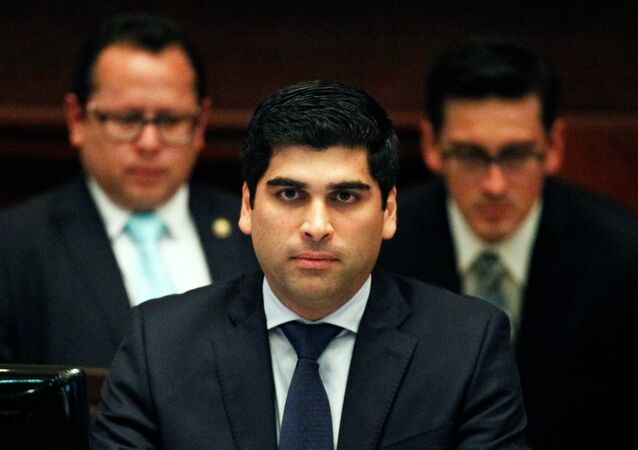 Otto Sonnenholzner, vicepresidente de Ecuador