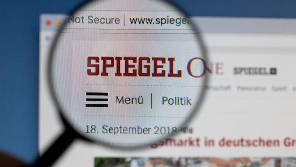 Der Spiegel - Sputnik Mundo