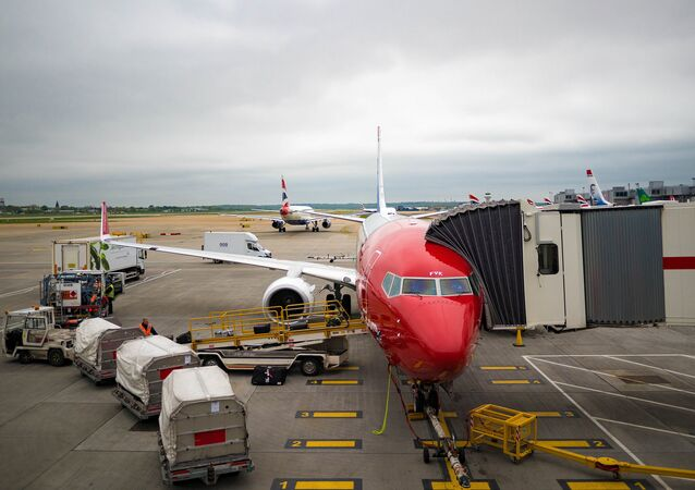 El aeropuerto de Gatwick, Londres