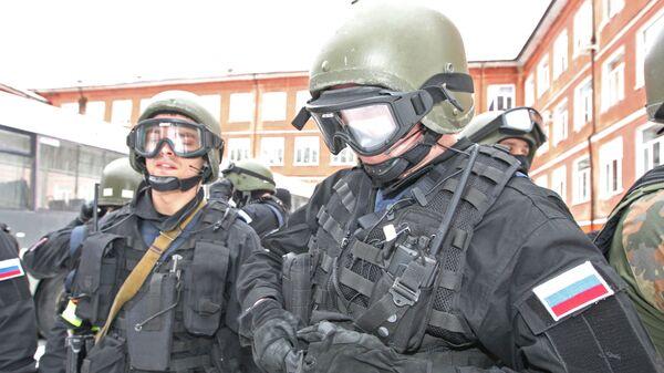 Антитеррористические учения спецназа УФСБ и УМВД России - Sputnik Mundo