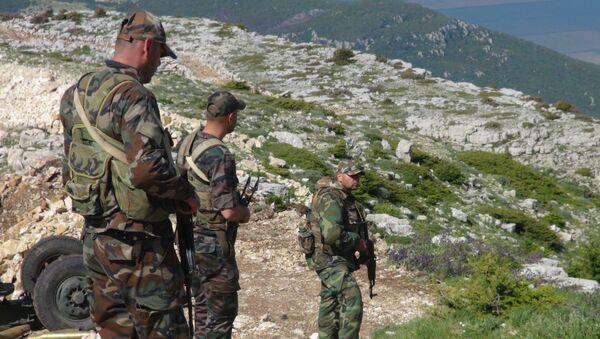 Los soldados sirios (archivo) - Sputnik Mundo