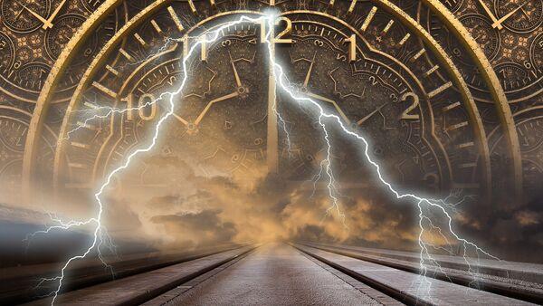 La representación de un viaje en el tiempo - Sputnik Mundo