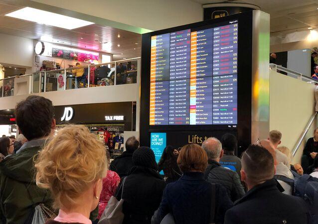 Situación en el aeropuerto de Gatwick, Londres