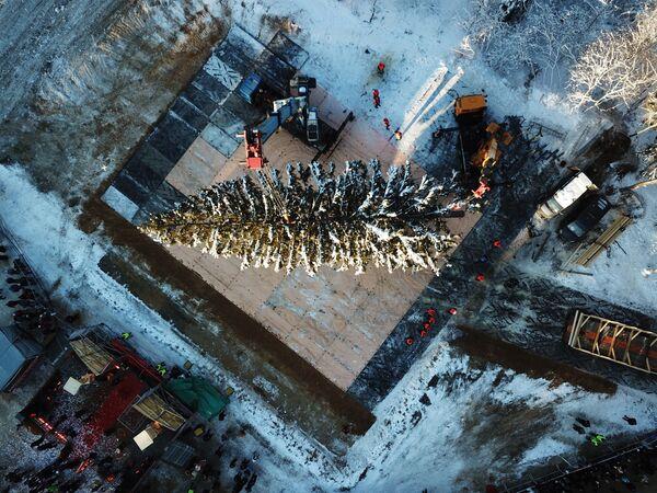 Protestas, volcanes y Miss Universo: las imágenes más impactantes de la semana - Sputnik Mundo