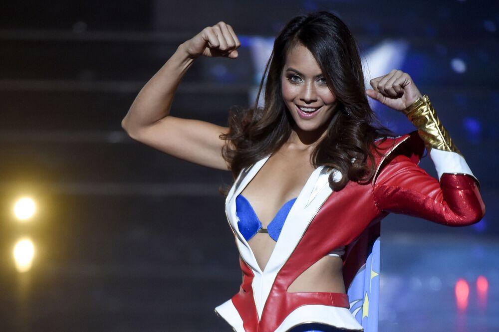 Protestas, volcanes y Miss Universo: las imágenes más impactantes de la semana