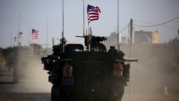 Las tropas estadounidenses en Siria (archivo) - Sputnik Mundo
