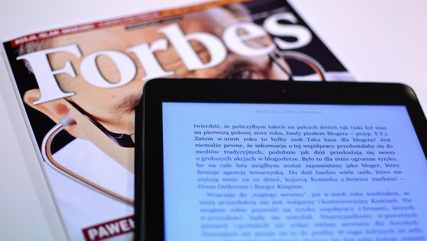Forbes - Sputnik Mundo