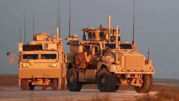 Las tropas estadounidenses en Siria - Sputnik Mundo