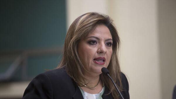 Sandra Jovel, canciller de Guatemala - Sputnik Mundo