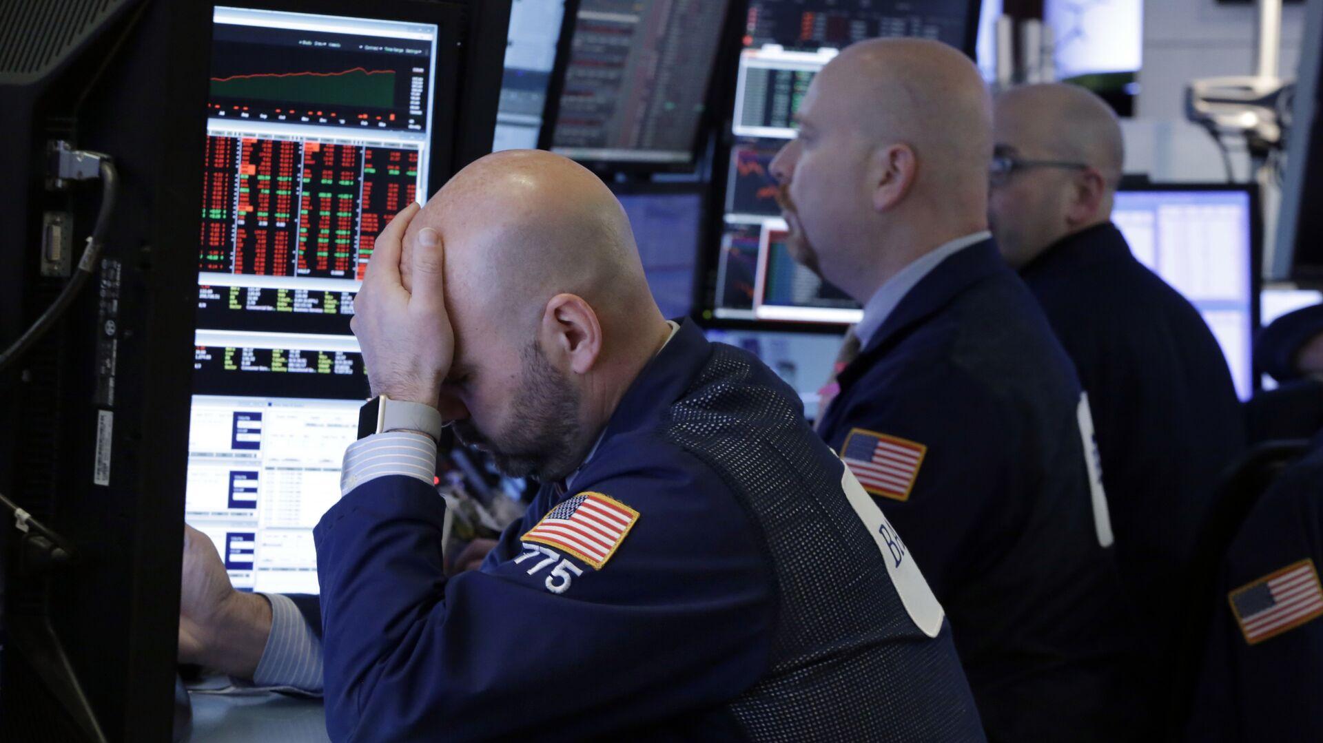 Bolsa de valores (referencial) - Sputnik Mundo, 1920, 10.05.2021