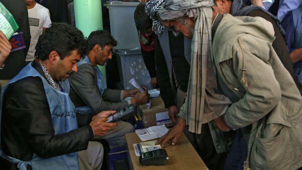 Elecciones en Afganistán (archivo) - Sputnik Mundo