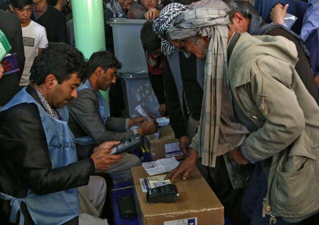 Elecciones en Afganistán (archivo)
