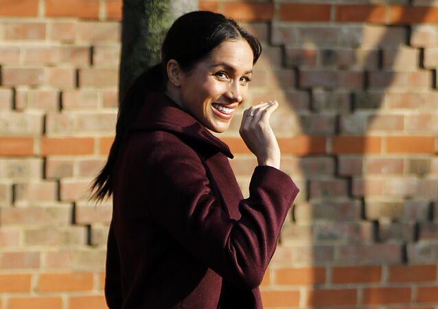 Meghan, duquesa de Sussex, se va del comedor popular Hubb