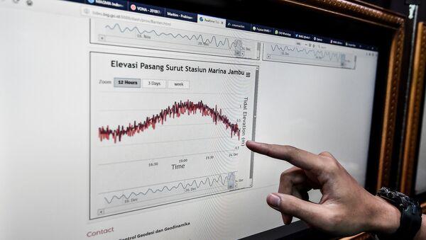 Investigación de las olas en Indonesia - Sputnik Mundo