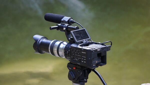 Una cámara (imagen referencial) - Sputnik Mundo