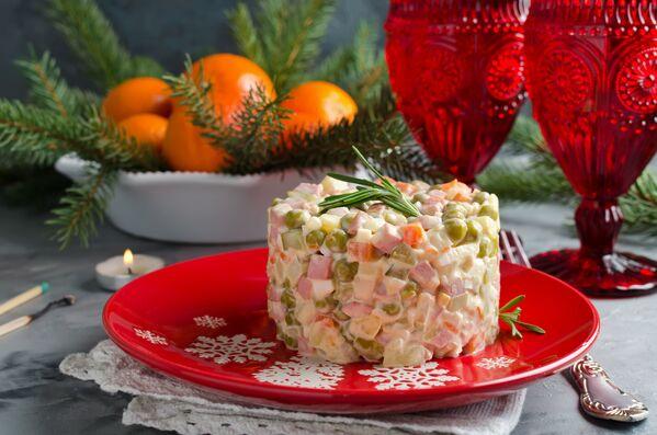 Los platos típicos de Navidad y Nochevieja en diferentes países - Sputnik Mundo