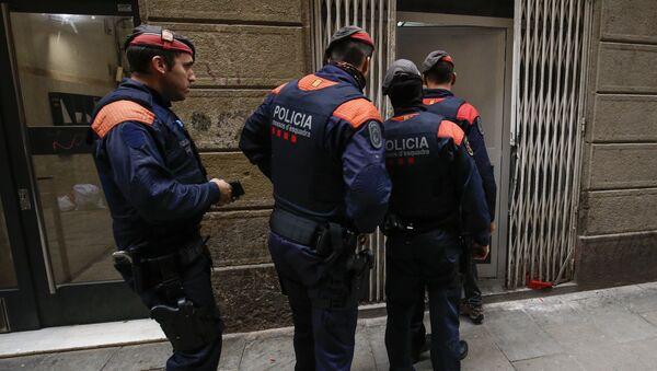 Los Mossos d'Esquadra, la policía autonómica catalana - Sputnik Mundo