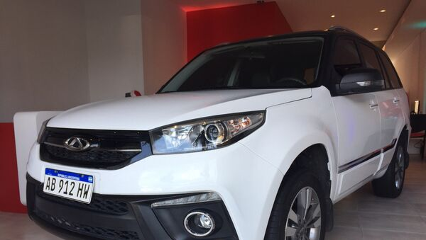 Marcas chinas de autos en Argentina - Sputnik Mundo